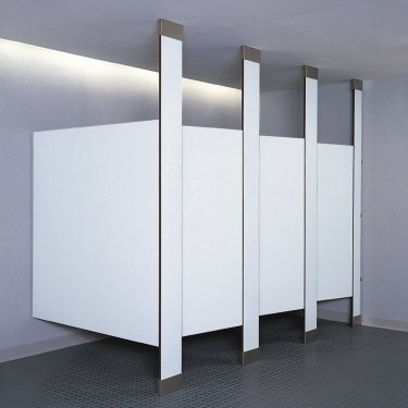 Bobrick Floor to Ceiling Mounted Partitions