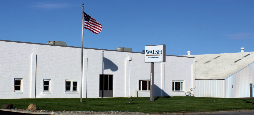 About Walsh Door & Security